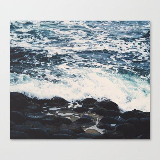 Rocky Sea Shore Canvas Print