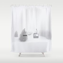 Lift To Heaven Shower Curtain