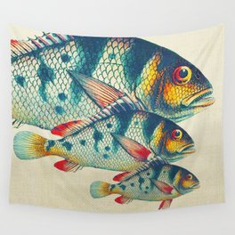 Fish Classic Designs 3 Wall Tapestry