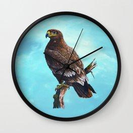 Steppe-Eagle Wall Clock