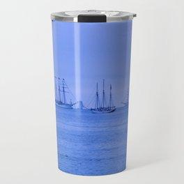 Tall Ships in a Group Travel Mug
