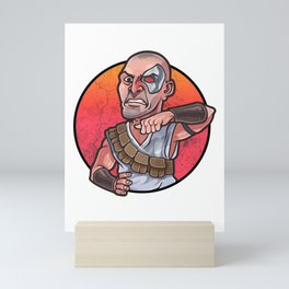Kano MortalKombat Mini Art Print