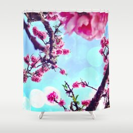 Blossoms in The Sky Shower Curtain