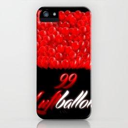 99 luftballons iPhone Case
