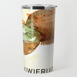 Fun with Fruits - Kiwis Travel Mug