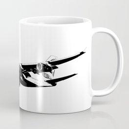One World Boeing 747 Sketch Coffee Mug