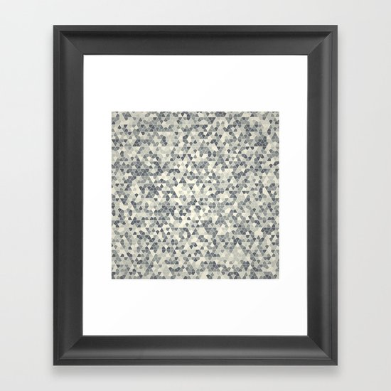 Losange Framed Art Print