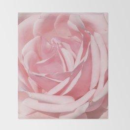 Landscape Summer Rose Throw Blanket