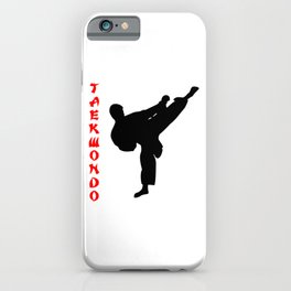 Taekwondo iPhone Case