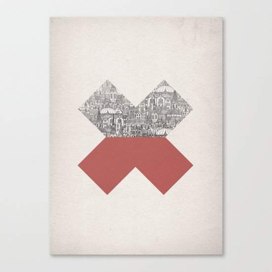 Cross Canvas Print