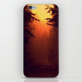 One Foggy Morning iPhone Skin