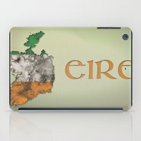 ruben ireland iPad Cases featuring Eire / Ireland by Dandy Octopus