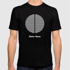DIETER RAMS Mens Fitted Tee MEDIUM Black