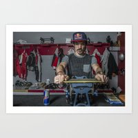 Charles Hamelin, Olympic Champion, Official Lifestyle Art Print