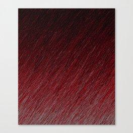 Funky Dark Red Canvas Print