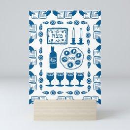 Symbols of Passover Folkart Mini Art Print