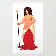 Bleeds For A Week And Doesn't Die Art Print