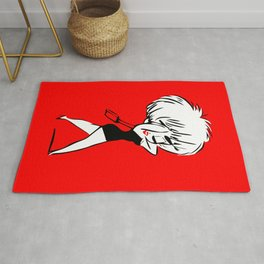 Madonna - Who's that Girl - Pop Art Rug