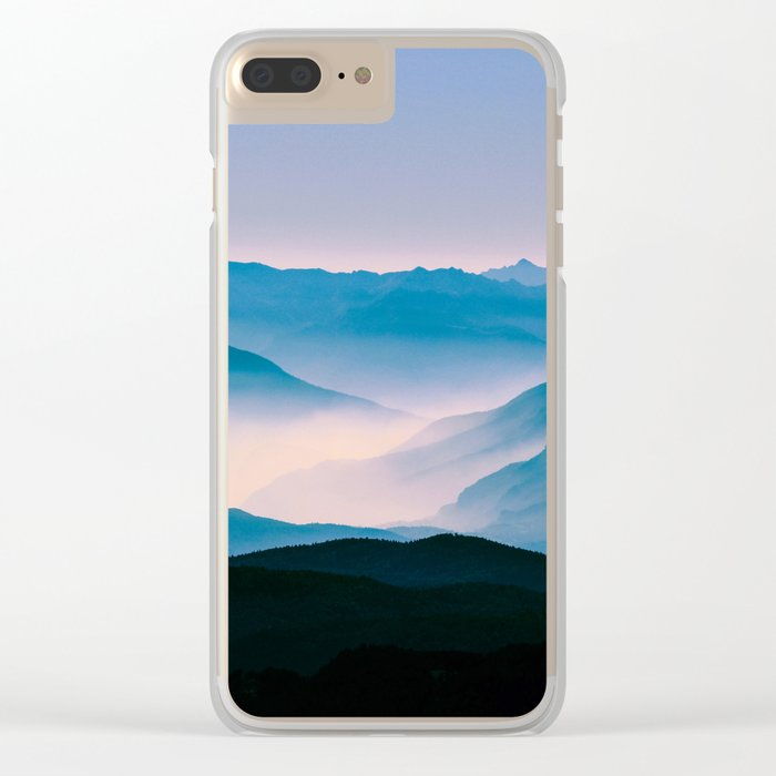 Pale Morning Light Clear iPhone Case
