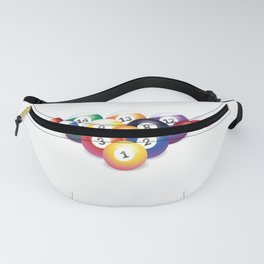 Funny Snooker Sayings Hold The Cue In Your Hand Like A Bird Fanny Pack