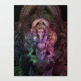Ganesha Color Canvas Print