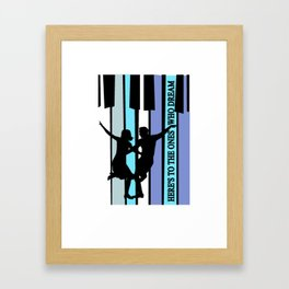 Here's to the ones who dream Framed Art Print