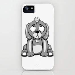 Critter Alliance - Poor Puppy iPhone Case