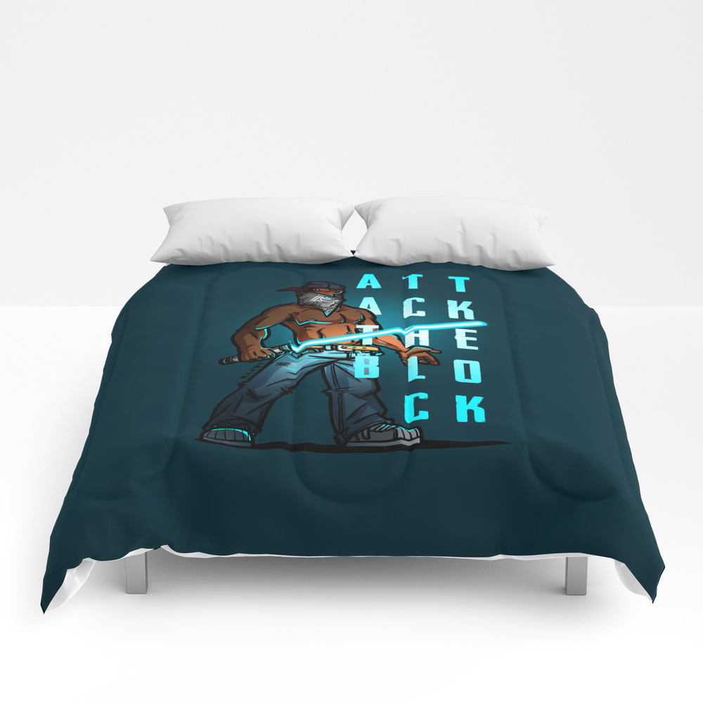 Attack The Block Comforter by Randymeeks CMF7430570