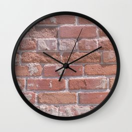 Laid in the Way Wall Clock