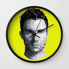 Adam Levine Triangulation Wall Clock