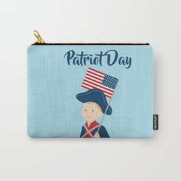 US flag held high for those who died - Patriot Day - September 11 Carry-All Pouch