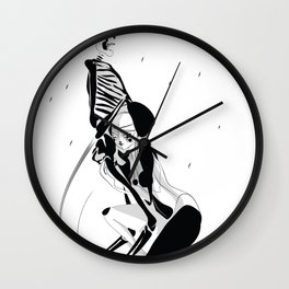 My Playmate - Emilie Record Wall Clock