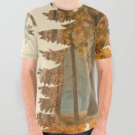 Mystic Hunt All Over Graphic Tee