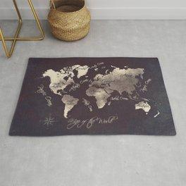 world map 18 Rug