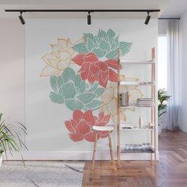 Lotus Carousal Wall Mural