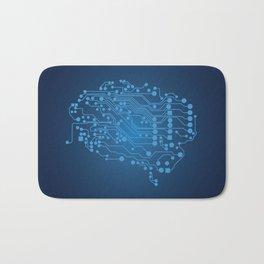 Electric brain Bath Mat
