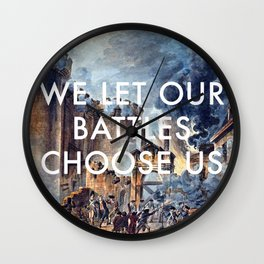 Glory of Storming the Bastille Wall Clock