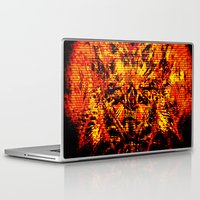 inner demons Laptop & iPad Skins featuring Demons by Jay Hixson