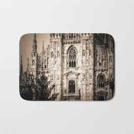 Duomo of Milan, Cathedral in the center of Milan Bath Mat