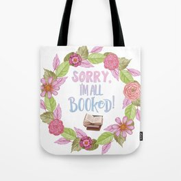 I'm booked Tote Bag