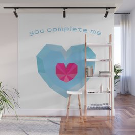 You Complete Me - Heart Container from The Legend of Zelda Wall Mural