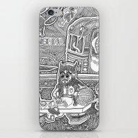 velvet underground iPhone & iPod Skins featuring Underground by Olya Goloveshkina