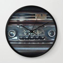 Vintage Radio Becker Europa Wall Clock