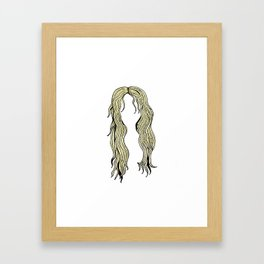 olive beauty yyc Framed Art Print
