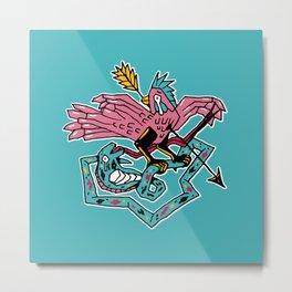 King pigeon Metal Print