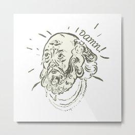 Old Dude Metal Print