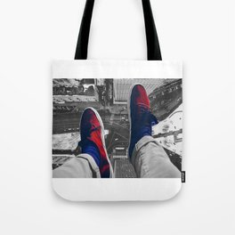 Rooftop shoes Tote Bag