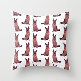 Scamp - the Dog Throw Pillow