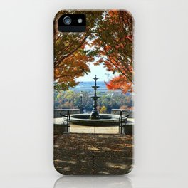 Fountain iPhone Case