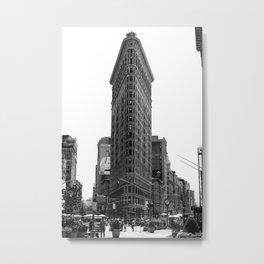 Flatiron District Metal Print